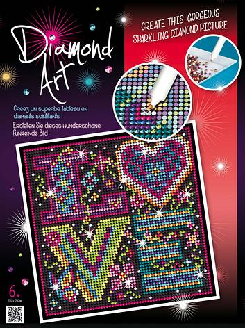 Набор для творчества Sequin Art DIAMOND ART Love New SA1610                                         , фото 2
