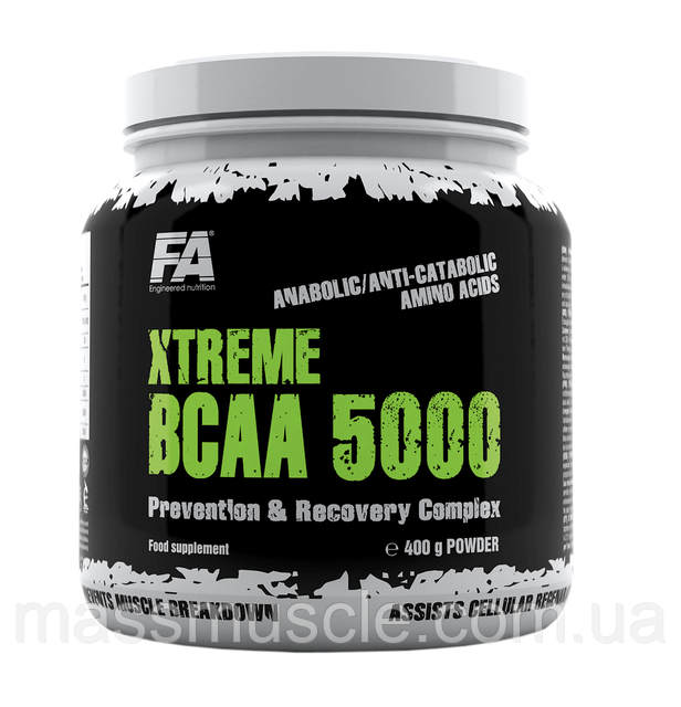 Аминокислота Fitness Authority Xtreme BCAA 5000 400g