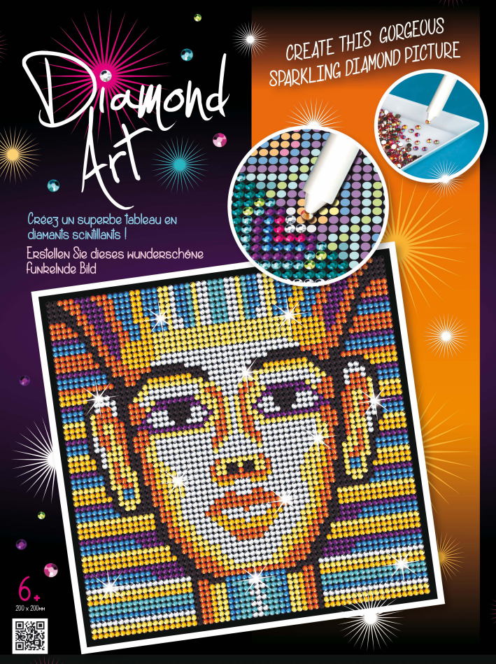 Набор для творчества Sequin Art DIAMOND ART Tutankhamun New SA1612