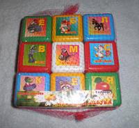 Детский набор кубиков АЛФАВИТ