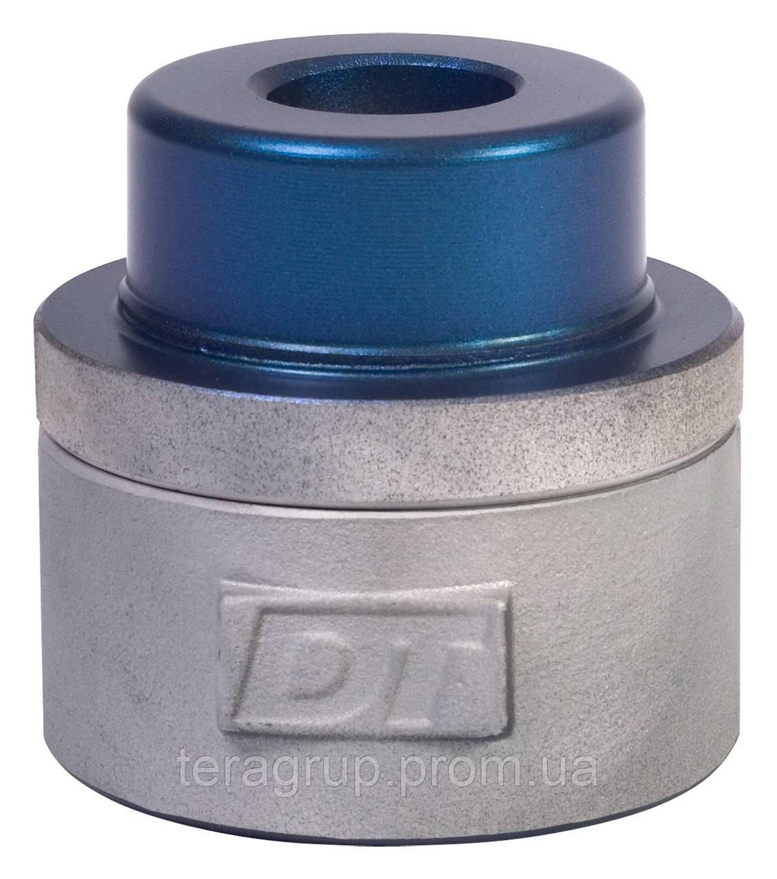 Парная насадка Ø20мм. к плоским паяльникам, синяя, Dytron 02328 - фото 3