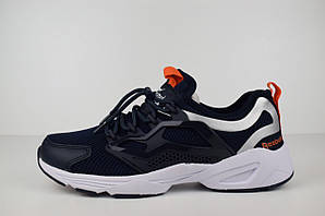 Мужские кроссовки Reebok FURY Adapt, темно-синие с оранжевым