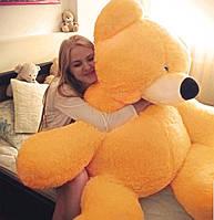 Плюшевый медведь 2 метра(180 см), большие мягкие игрушки купить. Медовый