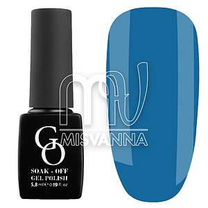 Гель-лак GO 5.8 мл, №164 темно-голубой