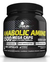 Аминокислоты Olimp Amino 5500 400 caps