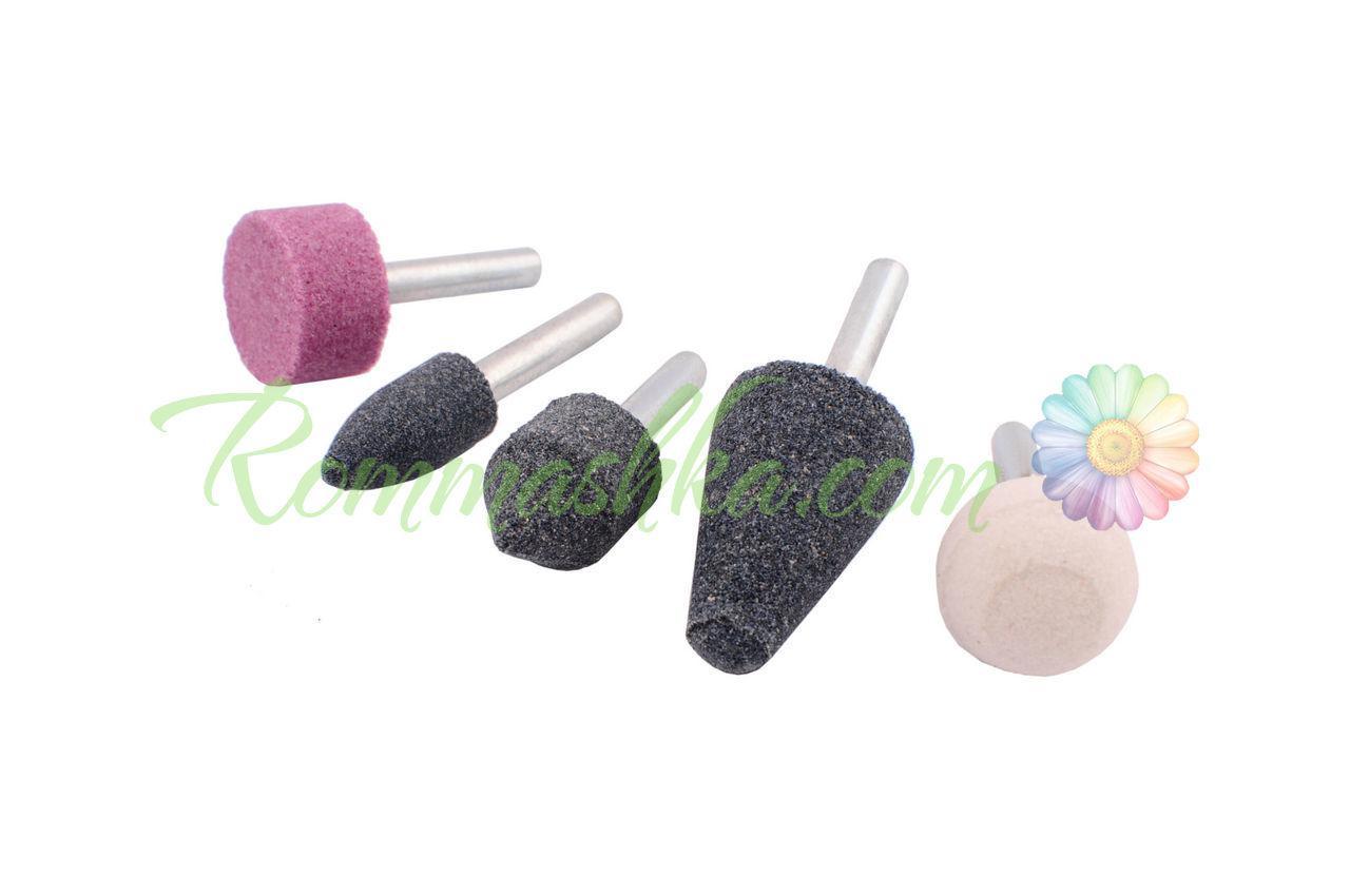 Набор шлифовальных камней Intertool - 5 шт.