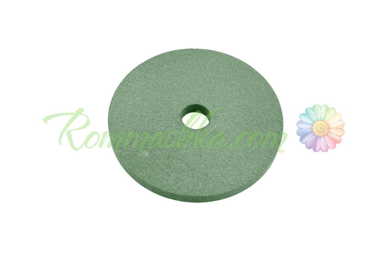 Круг керамика ЗАК - 125 х 20 х 32 мм (64С F80) зеленый