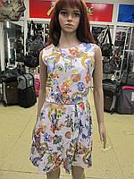 Яркое светлое летнее платье Viva moda р М