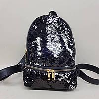 Рюкзак с паетками 30х23см, фото 1
