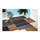 Придверный коврик IKEA KRISTRUP 35x55 см темно-синий 903.924.52, фото 8