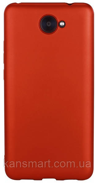Чехол на HUAWEI Y7 T-PHOX - SHINY (RED)