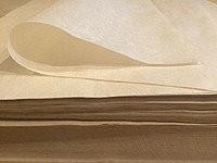 Бумага подпергамент для запекания и подстилки пиццы, размер 420мм*600мм
