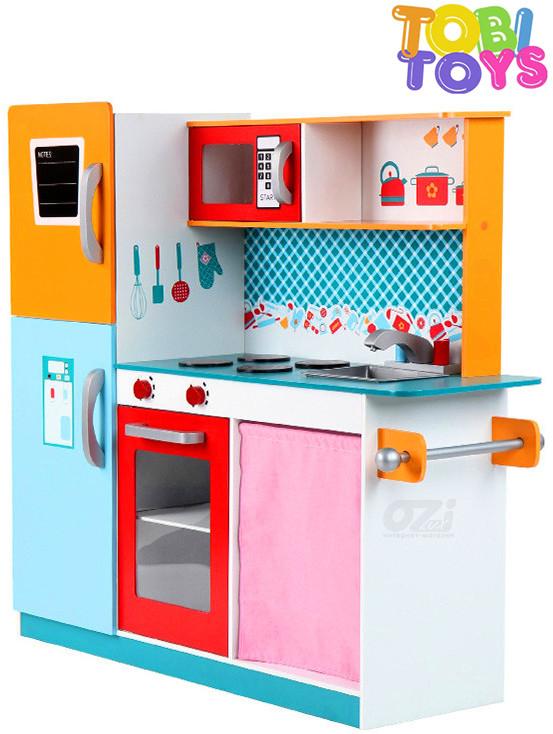 Детская деревянная кухня Tobi Toys W05 112 см
