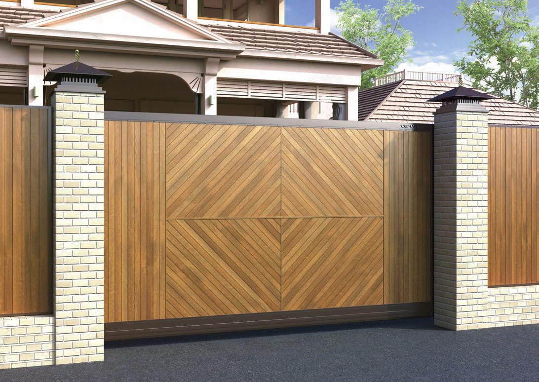 Зсувні ворота DoorHan Premium