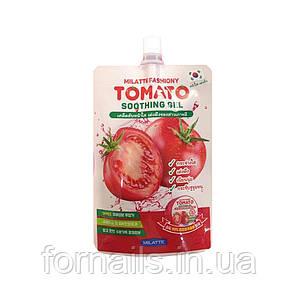 Осветляющий гель с экстрактом томата Milatte Fashiony Tomato Soothing Gel Pouch, 50 мл