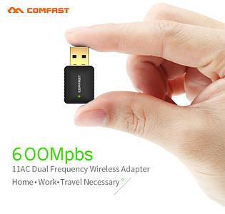 Wifi міні адаптер Comfast CF-915AC 5 Ghz двохдіапазонний