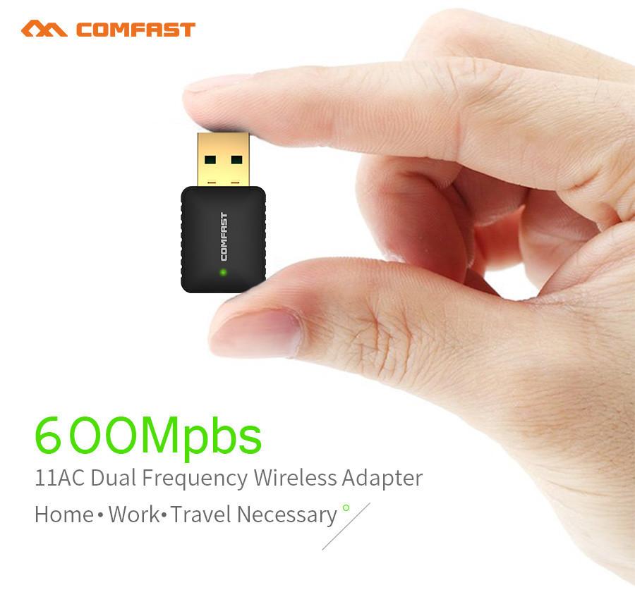 Wifi мини адаптер Comfast CF-915AC  5 Ghz двухдиапазонный