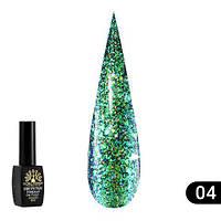 """Гель лак """"алмазный"""" Global Fashion 8 ml №304, фото 1"""