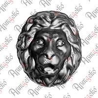 Лев штампованный 200х170х1,5 Арт. 51.350