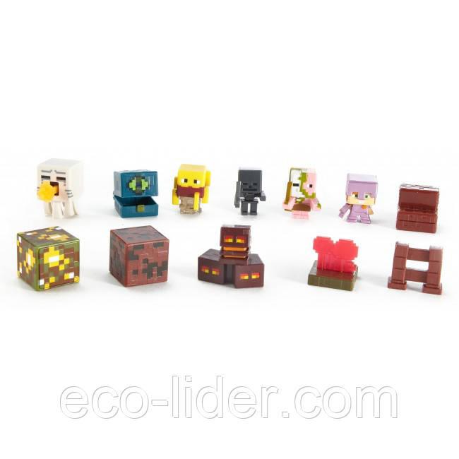 Набор из 6-ти мини-фигурок Minecraft, 6+