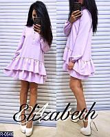 Женское стильное платье рубашка мод.5056