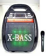 Портативная система GOLON RX-810BT (колонка, микрофон, караоке )