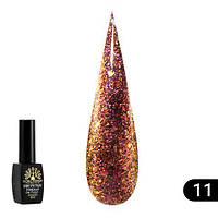 """Гель лак """"алмазный"""" Global Fashion 8 ml №311, фото 1"""