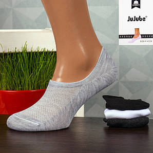 Мужские короткие носки-следы Jujube F568-2. В упаковке 12 пар