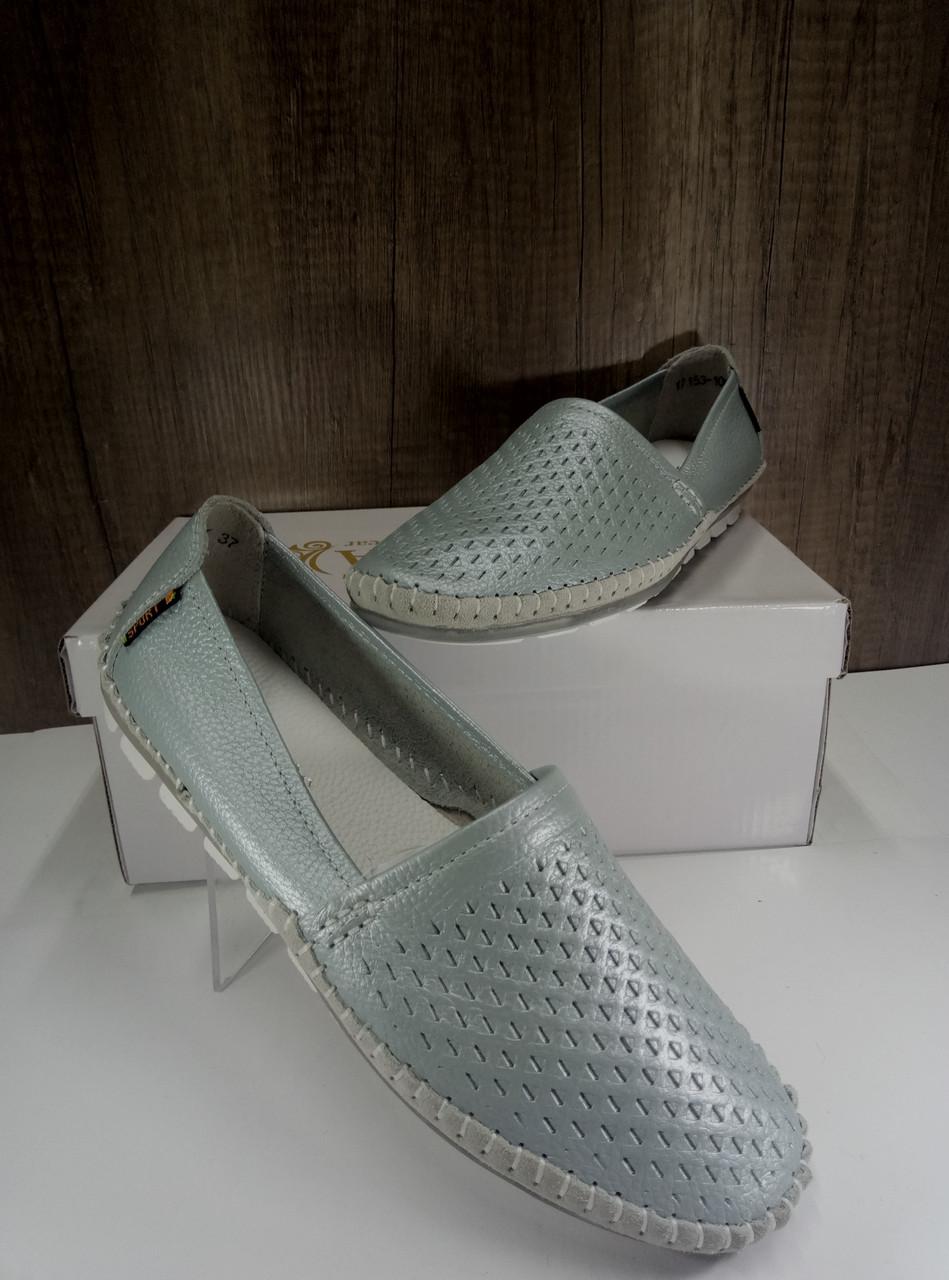 Летние женские туфли ALLSHOES 17153-10K