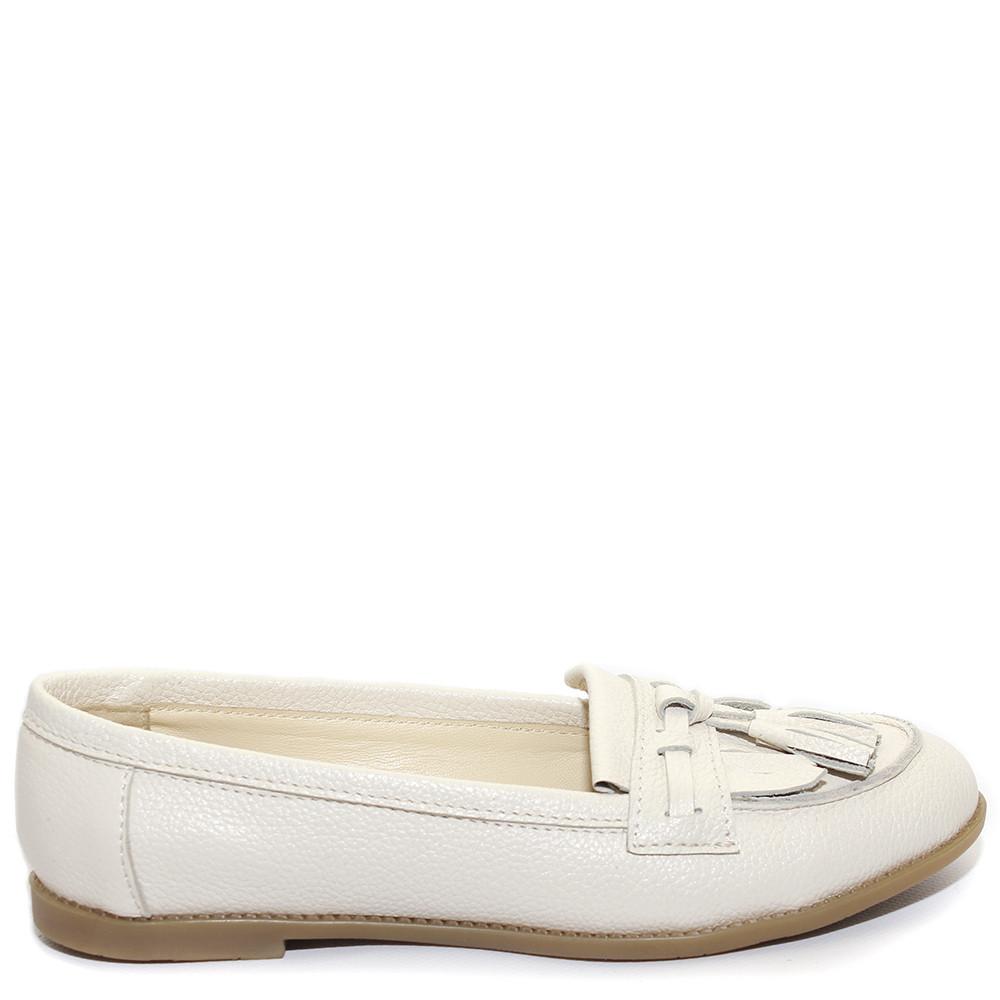 Туфли кожаные светло-бежевого цвета Шелдон-KZ - Інтернет-магазин «ТАК- 8ac78191049