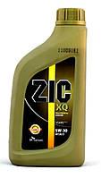 Моторное масло Zic XQ 5W-30 (Канистра 1литр) универсальное (бензин + дизель)