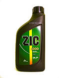 Моторное масло Zic XQ 5W-30 (Канистра 1литр) универсальное (бензин + дизель), фото 8