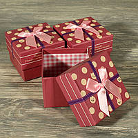 Подарочная коробка 0115 (6 шт. в комплекте)