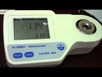 Рефрактометр портативний цифровий HI 96801 для цукру