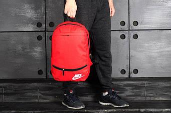 Спортивный рюкзак Nike красного цвета  (люкс копия)