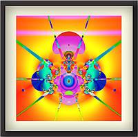 """Картина для кабинета, вызывает вдохновение - """"Взрыв идей""""."""