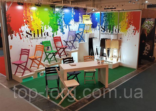 Разноцветные раскладные стулья Силла под заказ