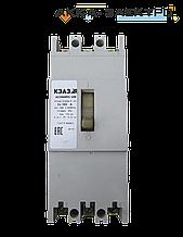 Автоматичний вимикач АЕ2066 160А KEAZ