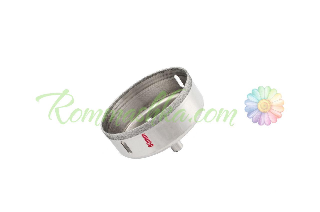Сверло по стеклу и керамике трубчатое Intertool - 50 мм