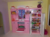 Детская мебель для кукол Глория Gloria 24016 большая модная кухня Барби