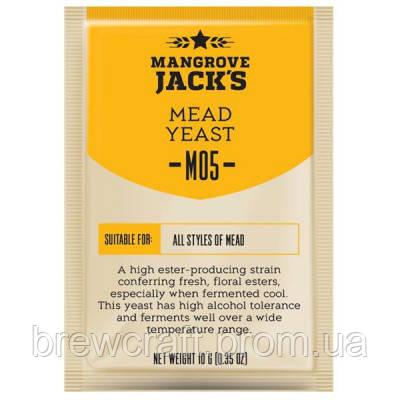 Дрожжи для медовухи  Mangrove Jack's CS Yeast Mead M-05  - 10 грамм