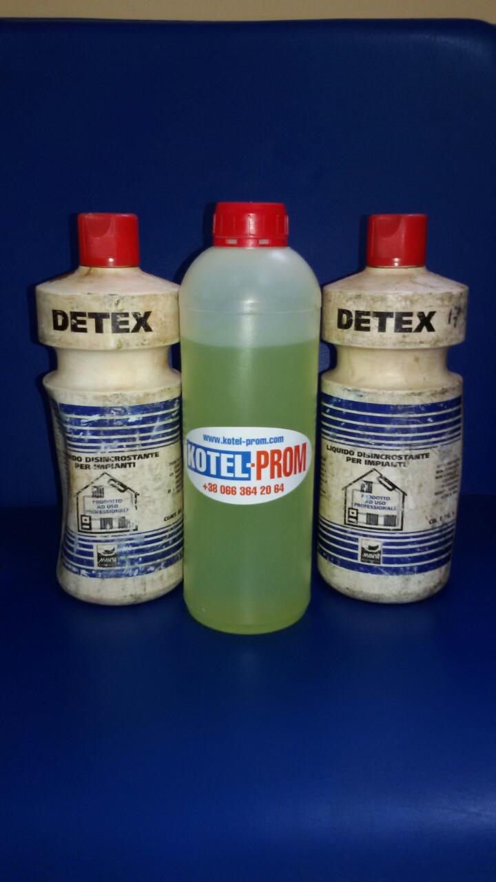 Detex для теплообменников теплообменники с анодной защитой