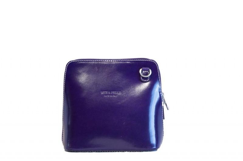 Шкіряна жіноча сумочка через плече Рамона