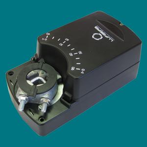 DA08N220PIS Электропривод Lufberg с аналоговым управлением для воздушной заслонки 1,6 м² + доп.контакт