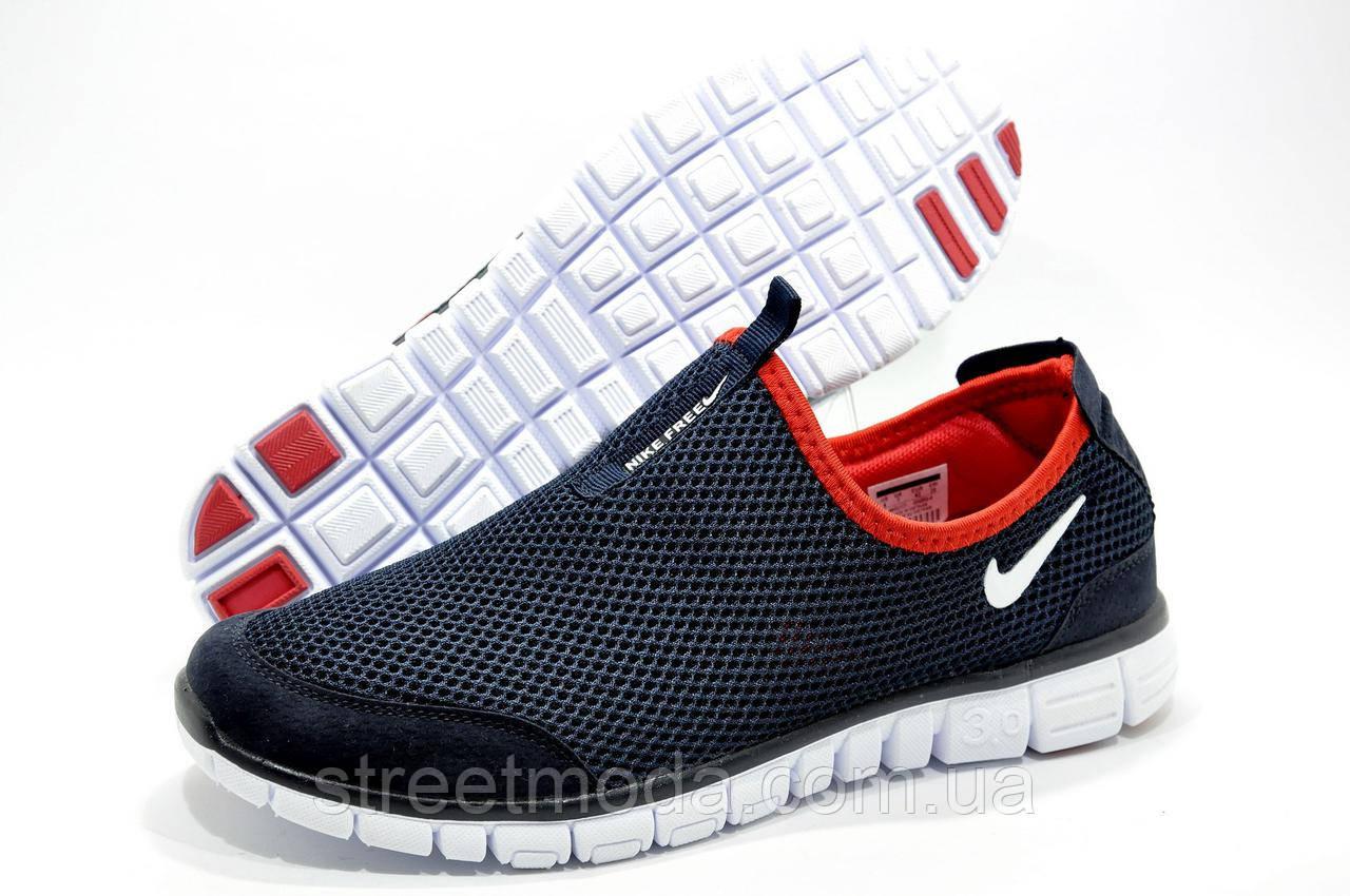 f66e5bce Мужские кроссовки в стиле Найк Free Run 3.0 Slip On (летние) - Интернет-