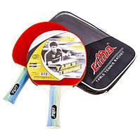 Ракетка для настольного тенниса Cima, 2 шт, 3 шарика, CM700-2