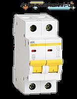 Автоматический выключатель ВА47-29 2P 2A  IEK