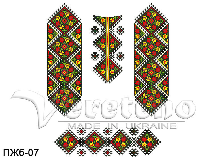 Заготовка жіночої сукні для вишивки бісером - Інтернет-магазин оригінальних  вишиванок та заготовок для вишивки ca042a616f32a