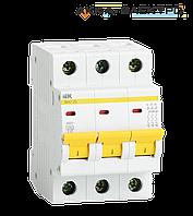 Автоматический выключатель ВА47-29 3P 6A  IEK