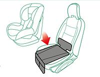 Защитный коврик-органайзер под детское автокресло, Capsula (эко-кожа)